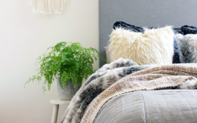 Bedroom styling tips for Winter with Lorraine Lea