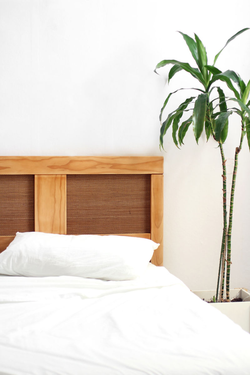 Diy Cane Headboard Makeover Your Old Bedhead Eclectic Creative