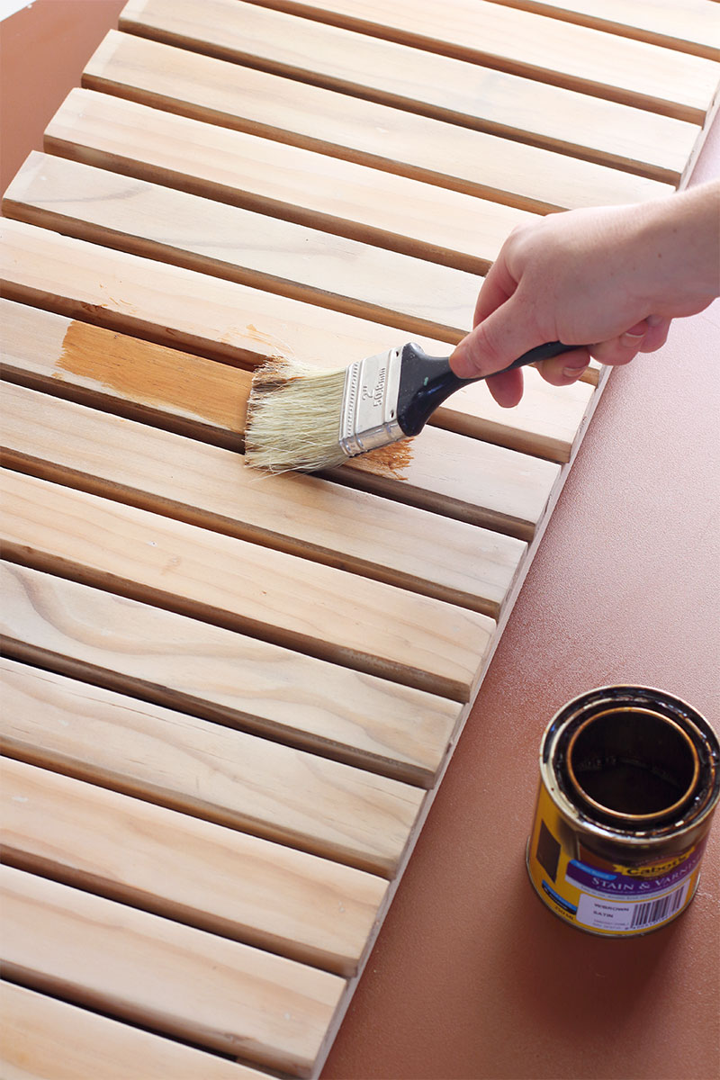How To Build Your Own Diy Wooden Bathmat Eclectic Creative